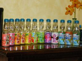 Ramune Collection by MisterMooshi