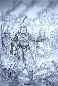 Women Warriors of Medieval 9th - 15th Century by Gambargin ...