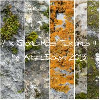 Stone Moss Texture Pack 2 by AngelEowyn