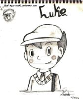 Doodles - Luke by Blue-Aqua-san95