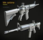 M4 carbine by t17dr