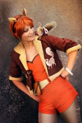 Marvel : Squirrel Girl by Amapolchen