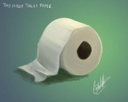 This is not toilet paper by Liabra