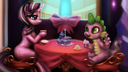 Tea time~ by Doll88