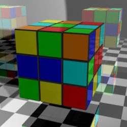 Simple Rubik's Cube Animation by Harris2300