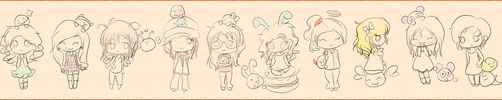 Girls Emoticonists by elicoronel16