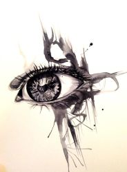 Eye Ink Wash by Lucky978