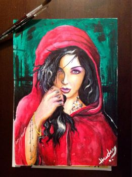Little Red Riding Hood by Hudu85