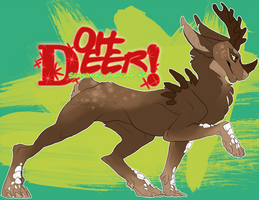 {CANORAMAS #5} Oh Deer! {CLOSED!} by loriLUNACY