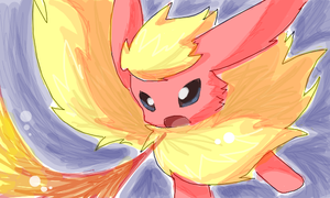 Flareon by Cocoroll