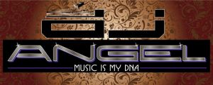 2012 logo for DJ ANGEL by mambographic