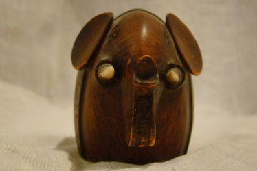 Wooden elephant 4 by Panopticon-Stock
