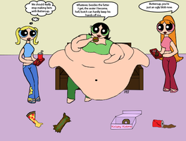 Request: Obese Buttercup by DCSandface