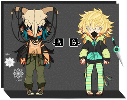 02-03 Skull Mask Adopts [CLOSED] by ZebbsAdopts