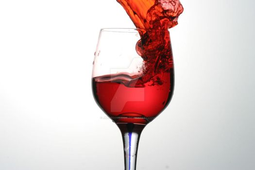 red wine by JMLproduction