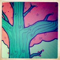 Tree by beespit
