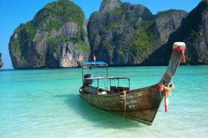 Island Boat 11141577 by StockProject1