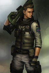 Piers Nivans - Resident Evil 6 by OOQuant