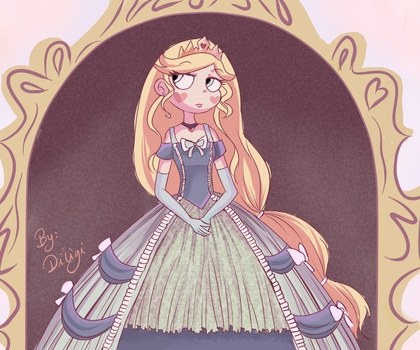 Our Queen, Star Butterfly by diligi