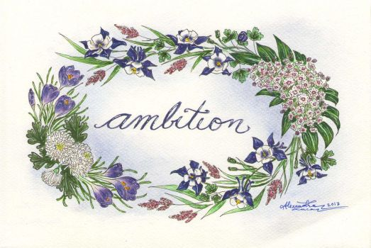 Ambition by bllueart