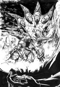 Doomsday Has Returned inked by NickMockoviak