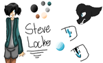Steve Locks :Ref: by Bonnieart04