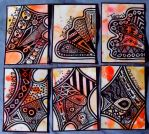 Set of Zentangle ATCs by mintdawn