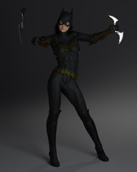 BatGirl Catch and Release by reedsabc