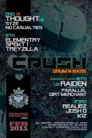 crush drumnbass feb11 by penpointred