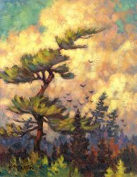 White Pine by hbpaintings