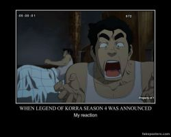 Legend of Korra Demotivational: Season 4 Reaction by n-trace