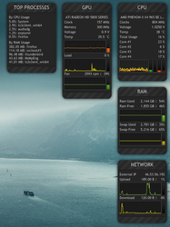 SystemMonitor 0.9 (Fixed reuploaded) by Ahmed-90