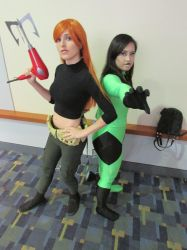 kim and shego by metalwolf77777