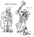Life as a Space Marine - R and R by NyQuilDreamer