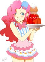ain't no Party without Pinkie pie cake by irsaona