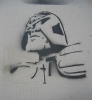 judge dredd test sprayed by sui001