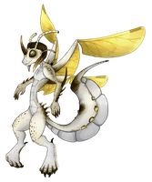 Spotted Stinger Drackonfly [OPEN] by kr1st1naa