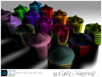 C4D Material Set 7 by JDLuxe