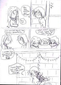 FFC--Holiday Spirit by KaruLeonnese