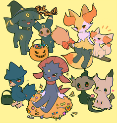 Happy Halloween! by foxlett