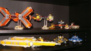 Lego Star Wars Collection Pt 3 by wingzero-01-custom