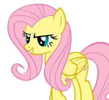 Proud Fluttershy by theaceofspadez