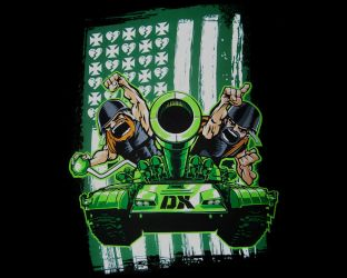 DX Army Wallpaper by ratedition