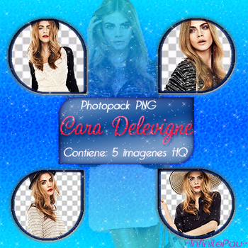 *Photopack PNG* #Cara Delevigne by PaulikO-Tutoriales