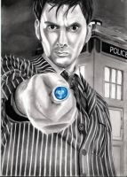 David Tennant - Doctor Who : by Silens-Somnium