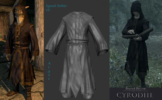 Synod Robes Done by Argornash35