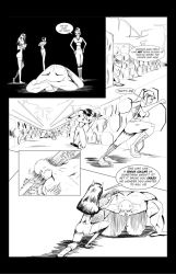 Team Awesome issue 3 pg 15 by Korslund