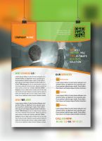 Corporate Flyer Template by ashanur