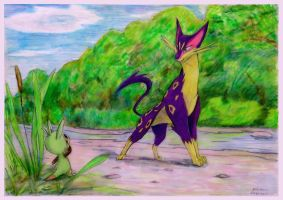 Chespin and Liepard