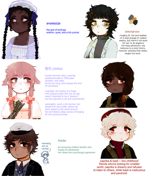 new ocs by seadrown